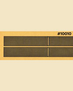 10010 F2 or F3 Athearn Standard A Unit Screens .005 thick (pre-blackened, made in China)